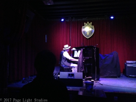 Grammy winner Jon Cleary performing at dba