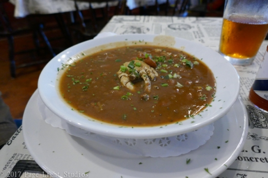 Crawfish Étouffée at Dry Dock Cafe