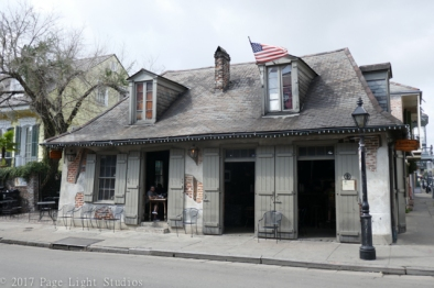 Sights along the self guided French Quarter walking tour