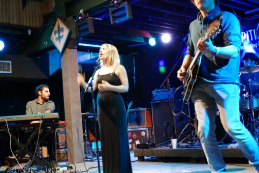 Maggie Koerner performing at Tipitina's Uptown